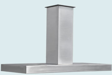 Custom Stainless Range Hood #5179 | Handcrafted Metal Inc