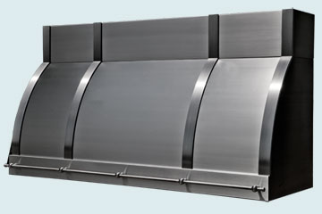 Custom Stainless Range Hoods Single Roll 5344