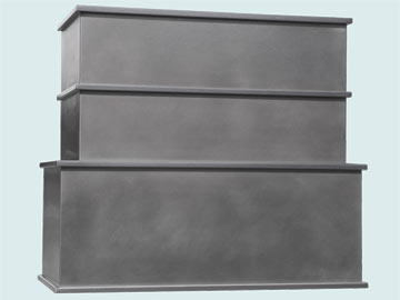 Custom Stainless Range Hood #6496 | Handcrafted Metal Inc