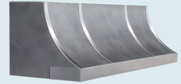 Custom Stainless Range Hood #6508 | Handcrafted Metal Inc