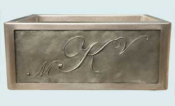 Custom Stainless Kitchen Sinks #2951 | Handcrafted Metal Inc