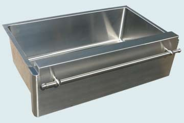 Custom Stainless Kitchen Sinks #3761 | Handcrafted Metal Inc