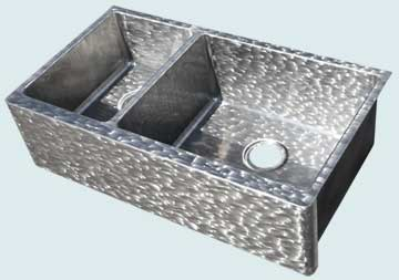 Custom Stainless Kitchen Sinks #4541 | Handcrafted Metal Inc