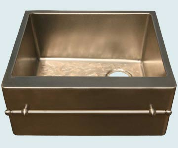 Custom Bronze Kitchen Sinks #4579 | Handcrafted Metal Inc