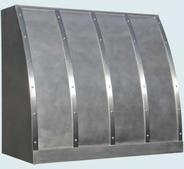 Custom Stainless Range Hoods Single Roll 5073