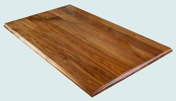 Wood Countertops - Walnut Wood Countertops- Face Grain Walnut wood Countertops - Face grain Walnut # 4119