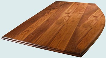 Wood Countertops - Walnut Wood Countertops- Face Grain Walnut wood Countertops - Face grain Walnut # 4153