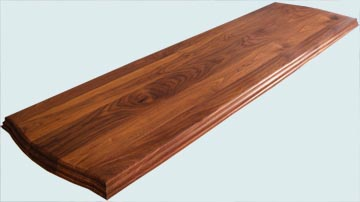 Wood Countertops - Walnut Wood Countertops- Face Grain Walnut wood Countertops - Face grain Walnut # 4159