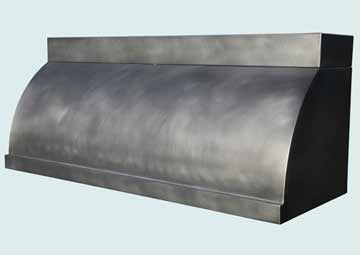 Custom Zinc Range Hoods Single Roll 4036
