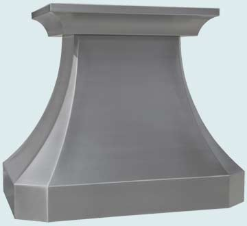 Custom Stainless Range Hoods French Country 4201