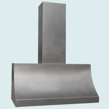 Custom Stainless Range Hoods Sweep Front 4202