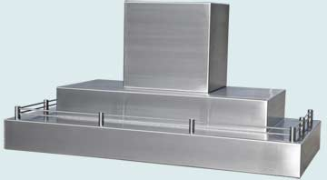 Custom Stainless Range Hoods Ultra Low Profile 4828