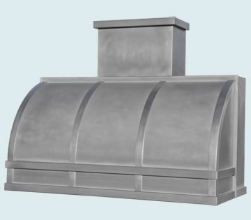 Custom Zinc Range Hoods Single Roll 5411