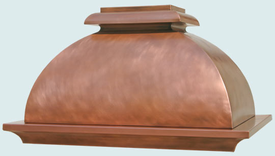 Copper  Range Hood  # 2420