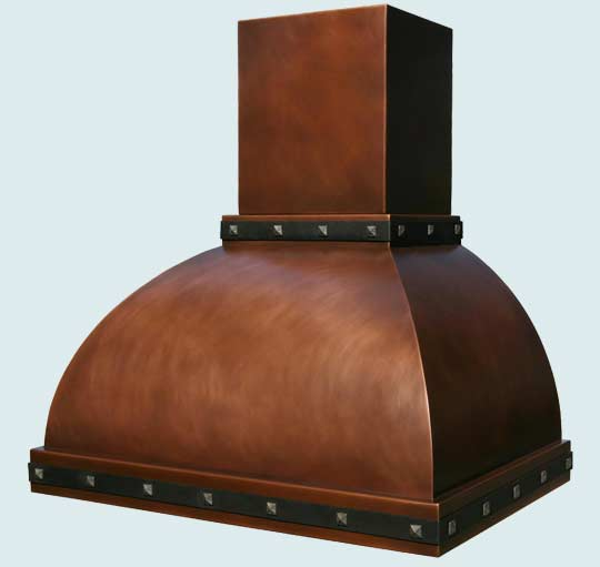 Copper  Range Hood  # 2757