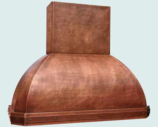 Copper  Range Hood  # 2763
