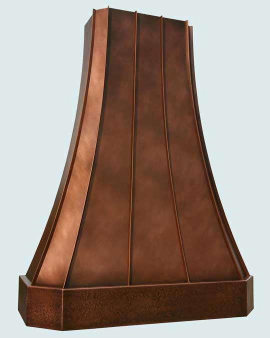 Copper  Range Hood  # 2774