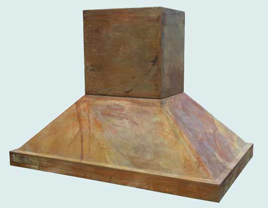 Copper  Range Hood  # 2776