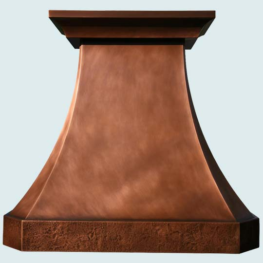 Copper  Range Hood  # 2799