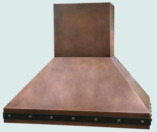Copper  Range Hood  # 2904