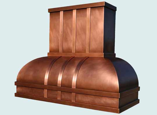 Copper  Range Hood  # 2982