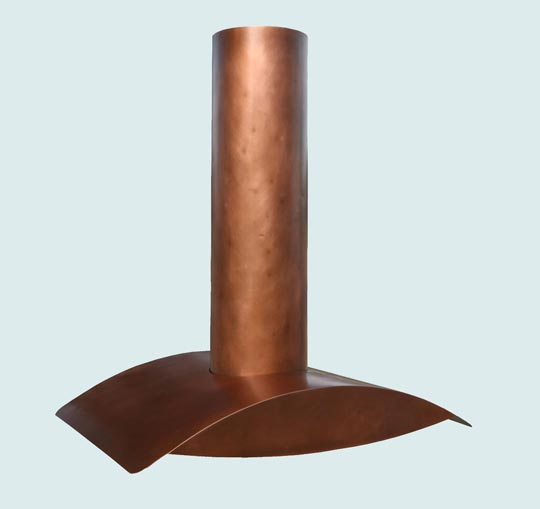 Copper  Range Hood  # 3000