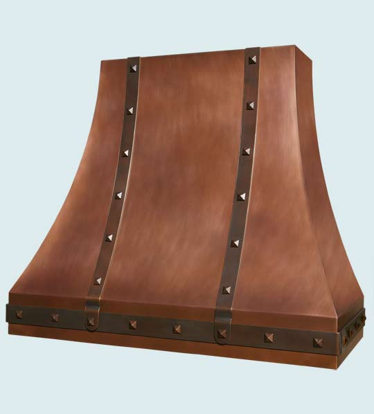 Copper  Range Hood  # 3023