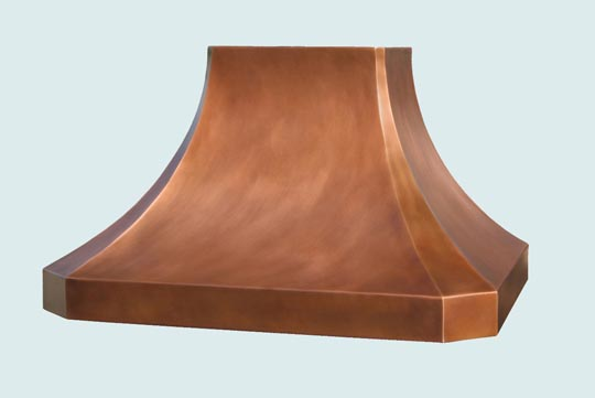 Copper  Range Hood  # 3026