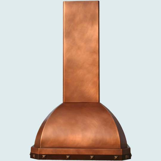 Copper  Range Hood  # 3053