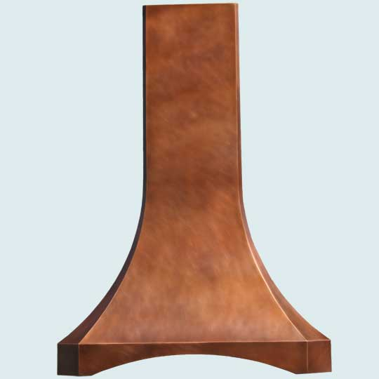 Copper  Range Hood  # 3091