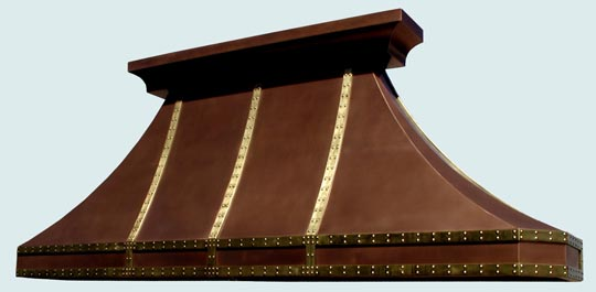 Copper  Range Hood  # 3095