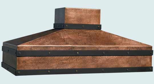 Copper  Range Hood  # 3100