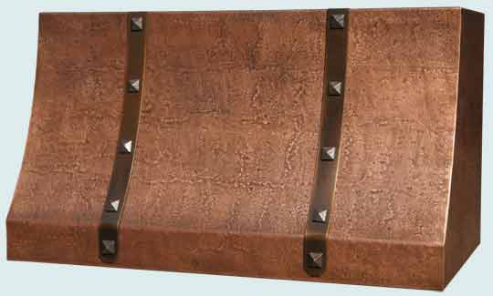 Copper  Range Hood  # 3121