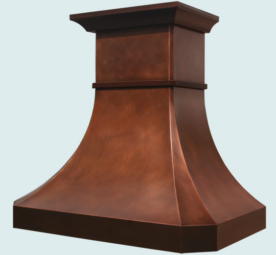 Copper  Range Hood  # 3125