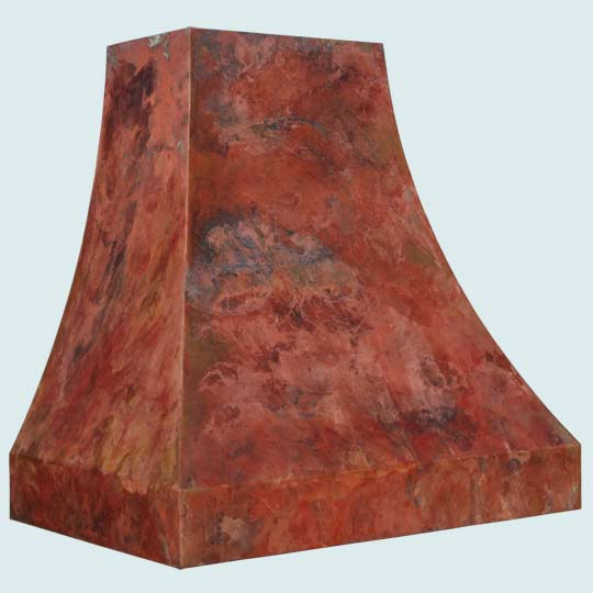 Copper  Range Hood  # 3144