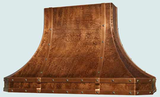 Copper  Range Hood  # 3161