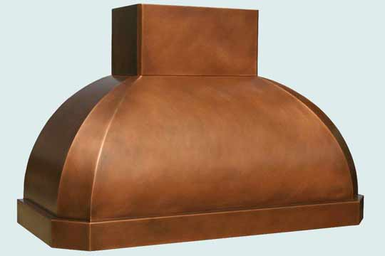 Copper  Range Hood  # 3182