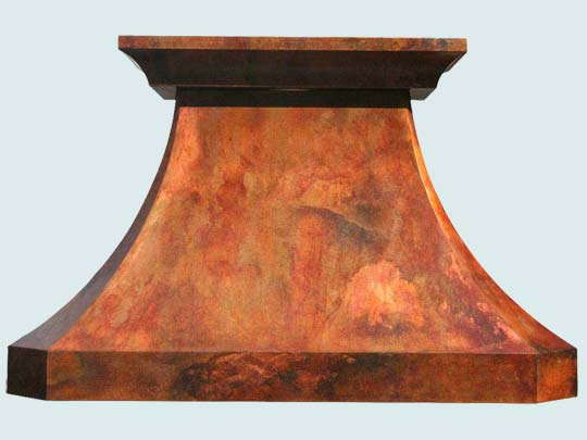 Copper  Range Hood  # 3224