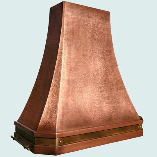 Copper  Range Hood  # 3811