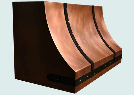 Copper  Range Hood  # 3828