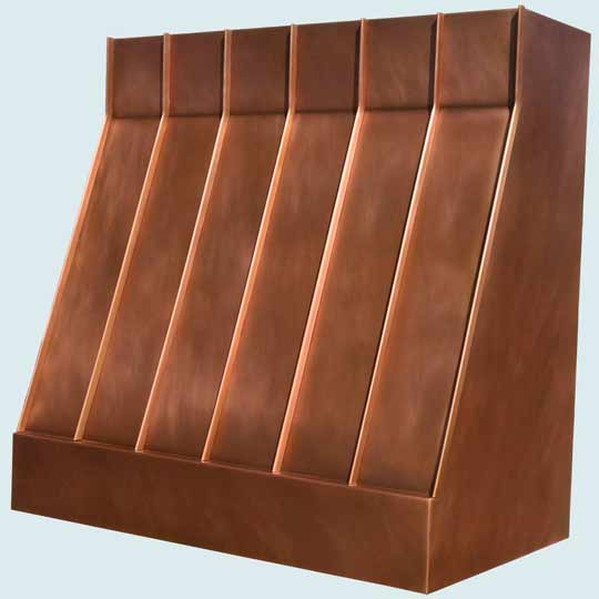 Copper  Range Hood  # 3959
