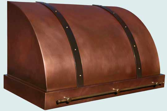 Copper  Range Hood  # 3984