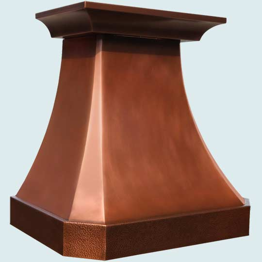 Copper  Range Hood  # 4033