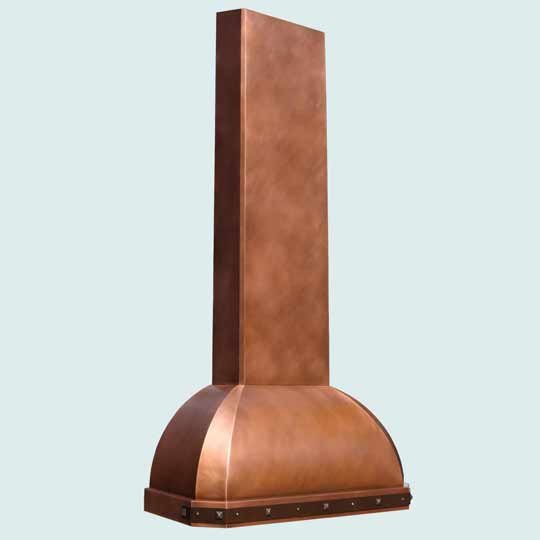 Copper  Range Hood  # 4163