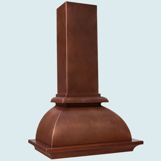 Copper  Range Hood  # 4234