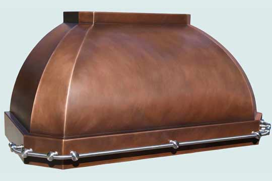Copper  Range Hood  # 4300