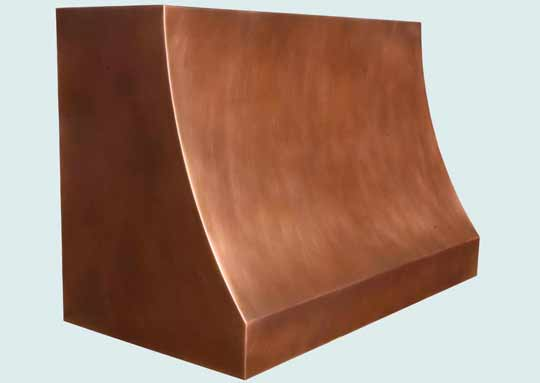 Copper  Range Hood  # 4317