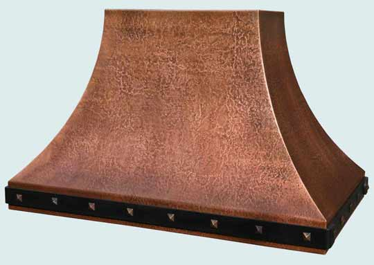 Copper  Range Hood  # 4336