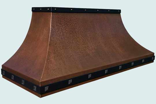 Copper  Range Hood  # 4339