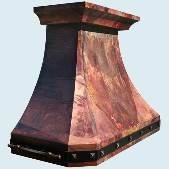Copper  Range Hood  # 4357